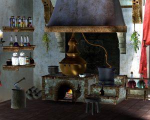 kochen, Alchemie